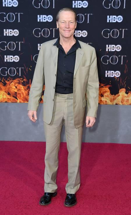 Iain Glen (Sor Jorah Mormont) Foto: ANGELA WEISS / AFP