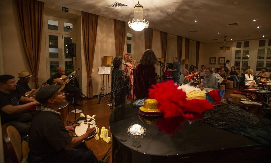 Hotel Vila Galé: jazz mesclado a outros ritmos, como samba; bufê de feijoada e comida portuguesa nos fins de semana Foto: Alexandre Cassiano / Alexandre Cassiano