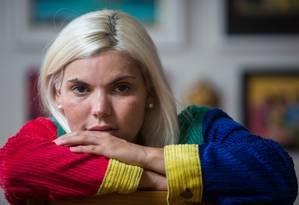 A cantora Duda Beat Foto: Emily Almeida / Agência O Globo