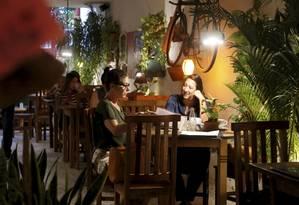 Fika Café: só grãos especiais, incluindo o raro (e mais caro) café do jacu Foto: Fábio Guimarães