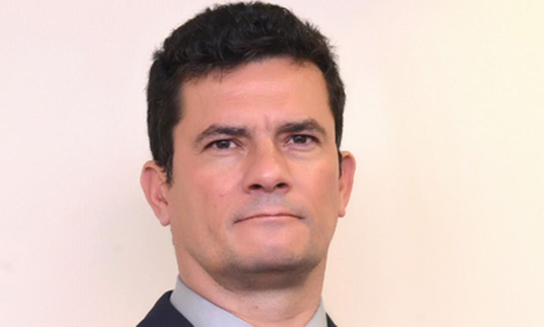 O ministro da Justiça Sergio Moro Foto: Reprodução / Twitter