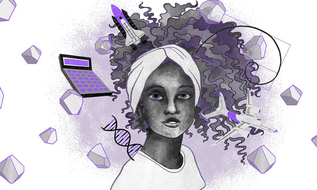 No Dia Internacional da Mulher Engenheira, elas contam à reportagem de Celina que, embora a profissão ainda seja muito masculinizada, já observam mudanças no comportamento das meninas Foto: Ilustração de Lari Arantes