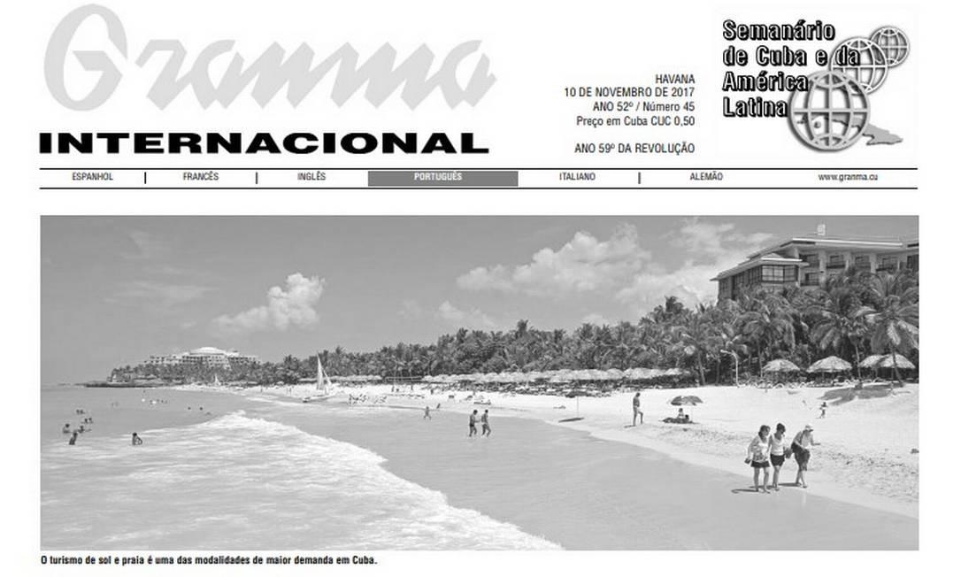 Jornais da imprensa oficial do governo cubano serão reduzidos por falta de papel Foto: Reprodução Internet