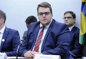 O presidente da CCJ da Câmara, deputado Felipe Francischini (PSL-PR) Foto: Gilmar Felix / Câmara