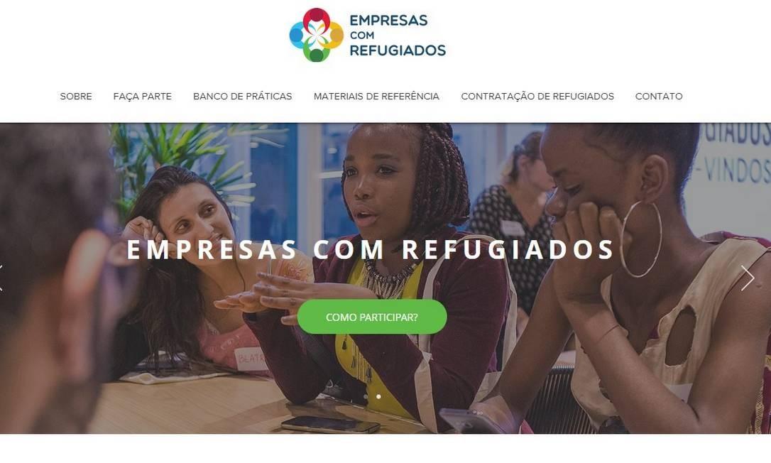 Site da ONU Foto: Reprodução/Internet