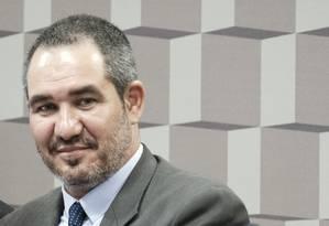 O diretor da Agência Nacional do Cinema (Ancine), Christian de Castro Foto: Fernando Rocha / Senado Federal