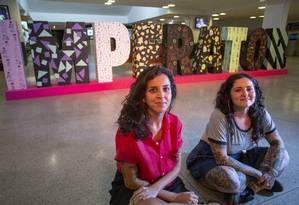 Mariana Moisés e Luiza Estavali: referências da Zona Norte Foto: Bruno Kaiuca / Agência O Globo