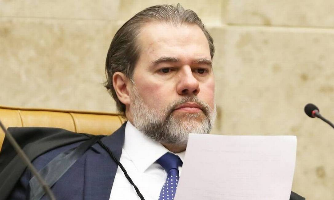 O presidente do STF, ministro Dias Toffoli Foto: Ailton de Freitas / Agência O Globo