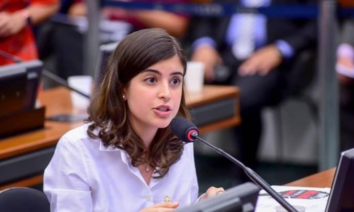 A deputada federal Tabata Amaral (PDT-SP) Foto: Zeca Ribeiro / CMulher