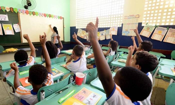 O MEC suspendeu a avaliação do nível de alfabetização dos alunos de 7 anos da rede pública, mas voltou atrás Foto: Divulgação