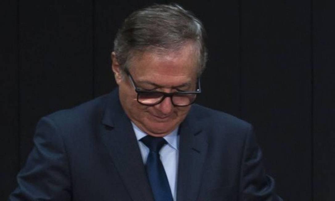 O ministro da Educação Ricardo Vélez Rodríguez Foto: Marcelo Casal Jr / Agência Brasil