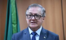 O ministro da Educação Ricardo Vélez Rodríguez Foto: Agência O Globo