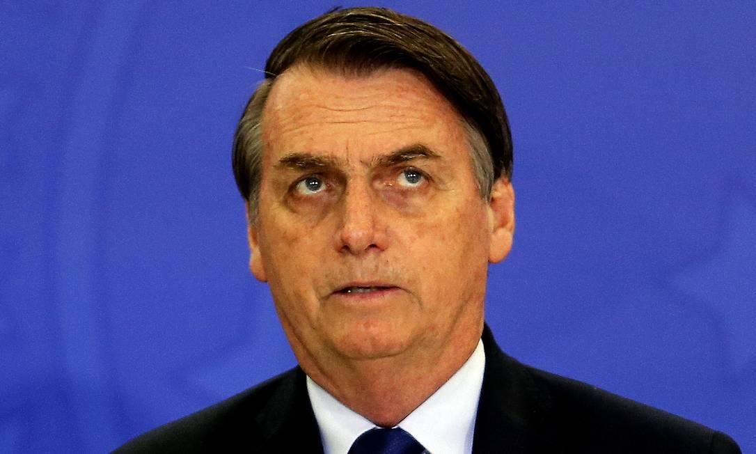 Segundo Bolsonaro, decisão final será anunciada em breve Foto: Jorge William / Agência O Globo