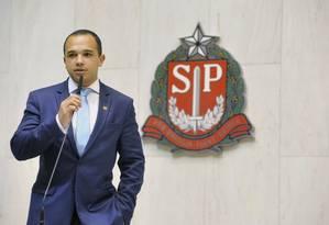 O deputado estadual Douglas Garcia Foto: Assembleia Legislativa de SP