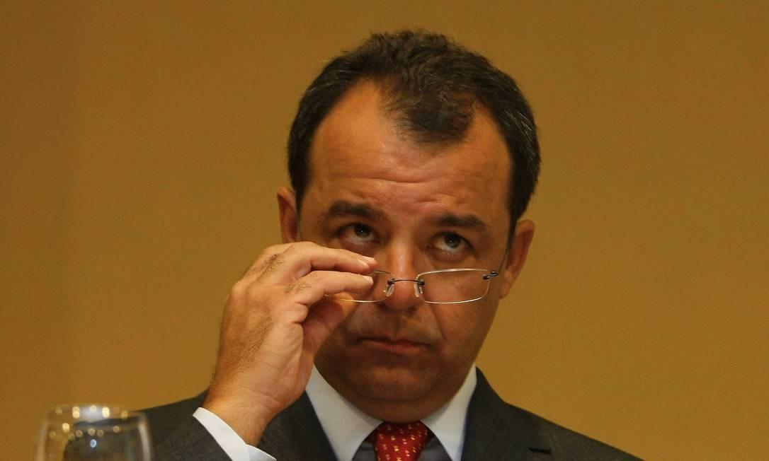 Cabral: depoimentos enrolam ex-aliados Foto: Marco Antônio Cavalcanti