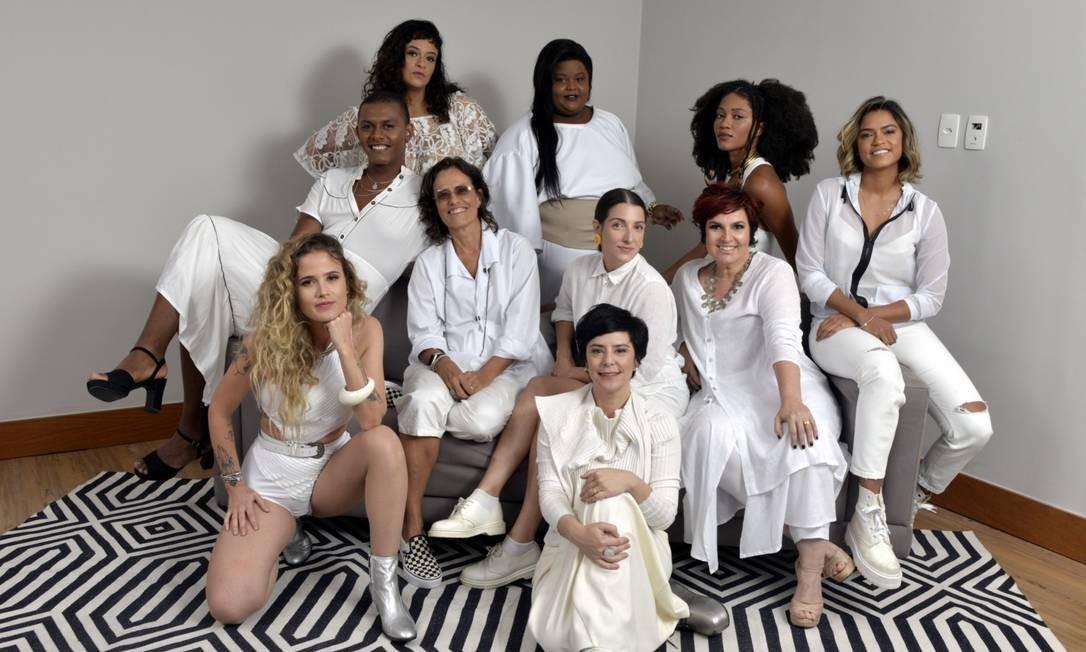 Unidas pela música: artistas em encontro promovido pela UBC Foto: Divulgação/Cristina Granato