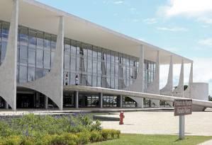 Palácio do Planalto Foto: Ailton de Freitas / Agência O Globo