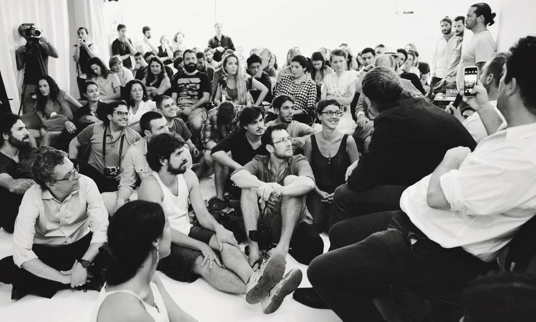 Sexta Livre. Bate-papo com fotógrafos da Magnum: desde 1999, este dia da semana é marcado por palestras Foto: Divulgação/Carolina Cattan