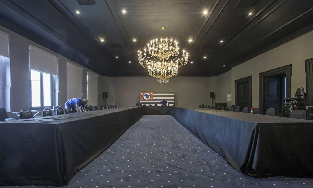 Todos os objetos doados passarão a ser patrimônio do estado, informou a Secretaria de Governo Foto: Edilson Dantas / Agência O Globo