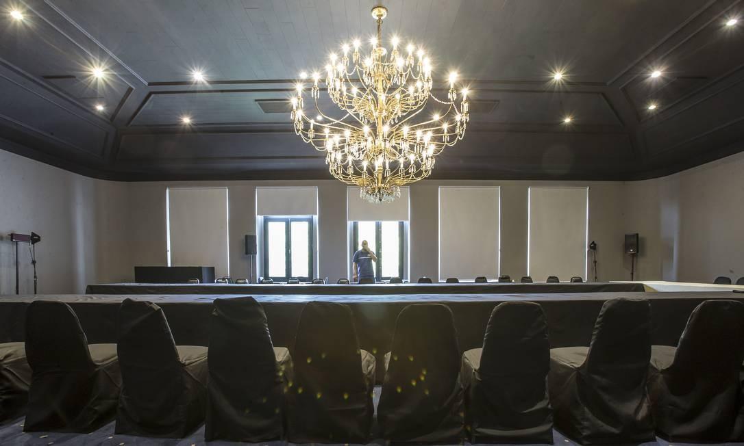 A nova decoração do palácio é apenas uma parte da reforma que Doria iniciou na sede do governo após tomar posse Foto: Edilson Dantas / Agência O Globo