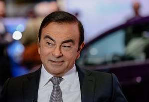 Carlos Ghosn deve ficar detido até pelo menos o dia 14 deste mês, após ser submetido a novo interrogatório Foto: Bloomberg