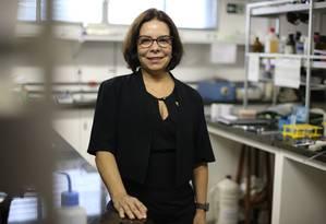 A médica Denise Pires de Carvalho, vencedora da eleição para reitoria da UFRJ Foto: Pedro Teixeira / Agência O Globo