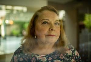 Longa espera. Maria Carolina, engenheira aposentada, aguarda desde outubro o pagamento da indenização por perdas no Plano Collor 2 Foto: Brenno Carvalho / Brenno Carvalho