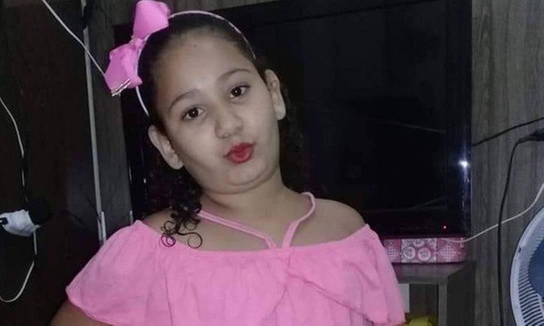 Segundo a mãe, Eloah não aceitou a decisão de amputação Foto: Reprodução