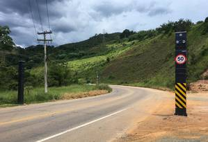 Novo radar fixo na RJ-130, que liga Teresópolis a Friburgo Foto: Divulgação