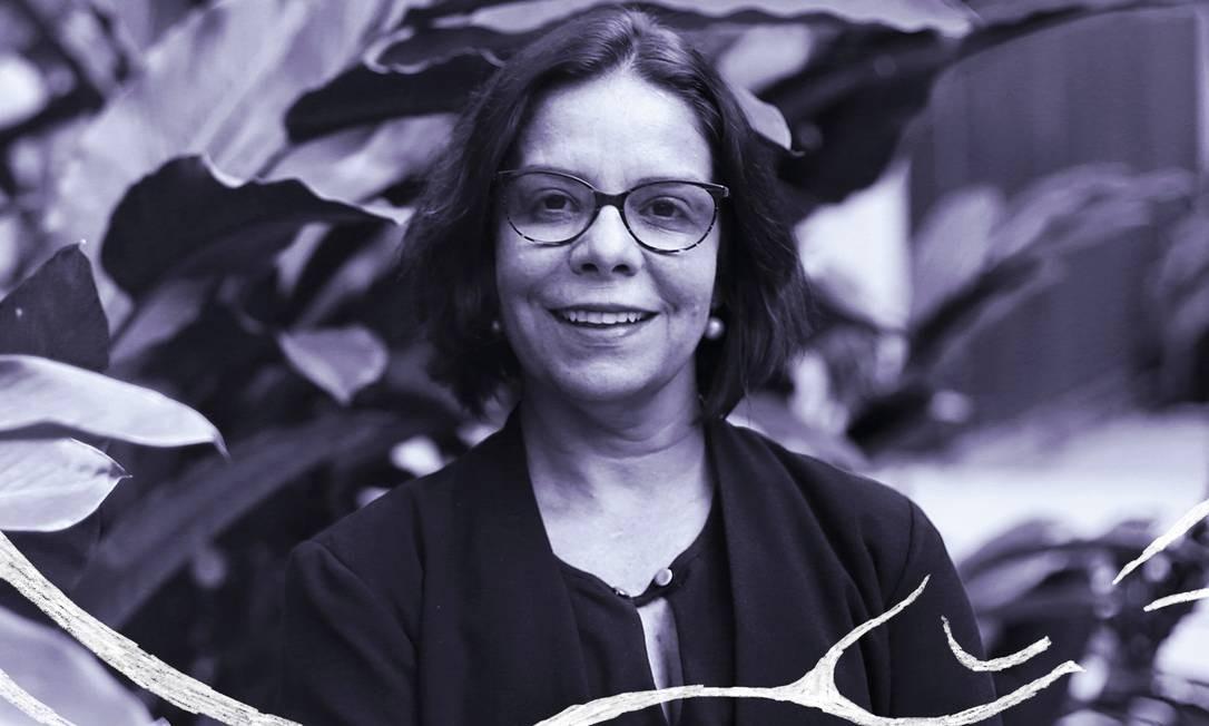Denise Pires Carvalho foi eleita em primeiro turno para a reitoria da UFRJ Foto: Pedro Teixeira