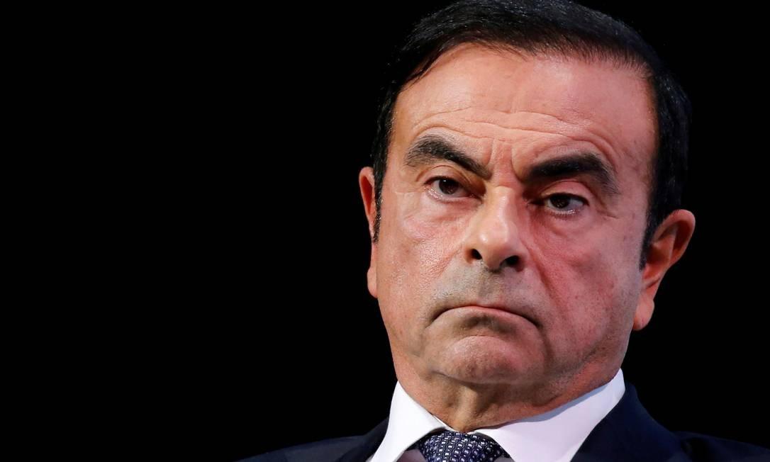 Carlos Ghosn deve ficar detido pelo menos até o dia 14 deste mês, após ser submetido a novo interrogatório Foto: Regis Duvignau / REUTERS