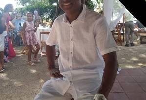 Evaldo Rosa dos Santos era músico e também trabalhava como segurança Foto: Facebook / Reprodução
