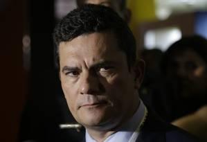 Ministro da Justiça e Segurança Pública, Sérgio Moro Foto: Gabriel Paiva / Gabriel Paiva