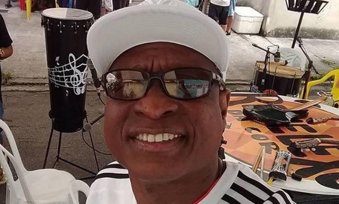 Evaldo Rosa dos Santos era músico e também trabalhava como segurança Foto: Reprodução