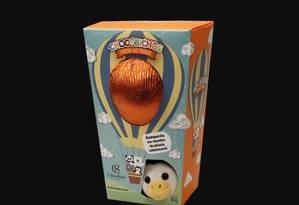 Ovo de Páscoa não segue regras da legislação para produtos que têm brinquedos como brinde Foto: Reprodução
