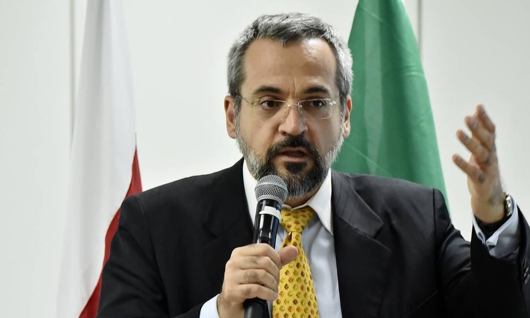 O novo ministro da Educação, Abraham Weintraub Foto: Divulgação / .