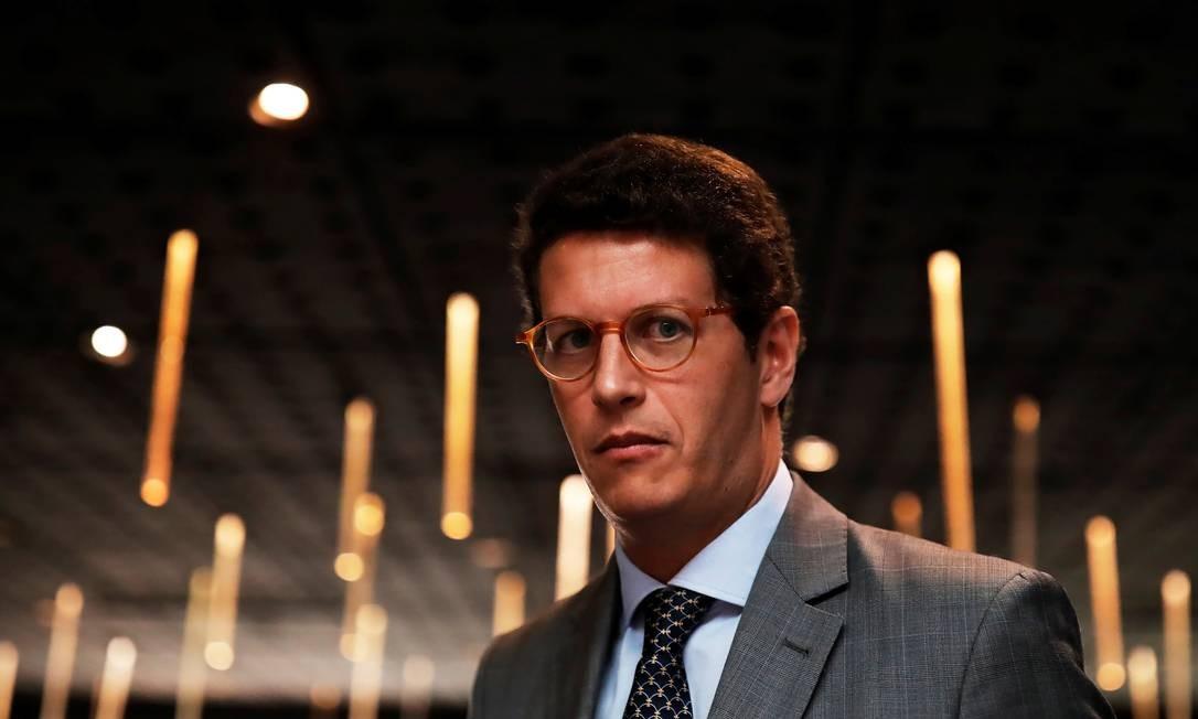 O ministro do Meio Ambiente Ricardo Salles Foto: Nacho Doce / Reuters