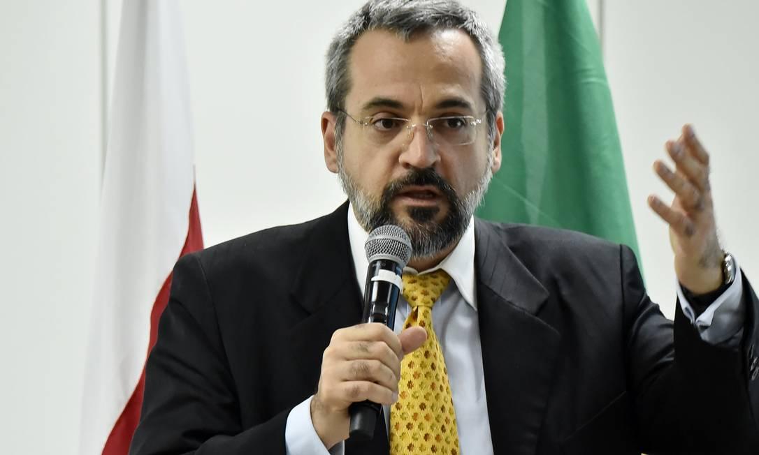 O novo ministro Abraham Weintraub Foto: Divulgação