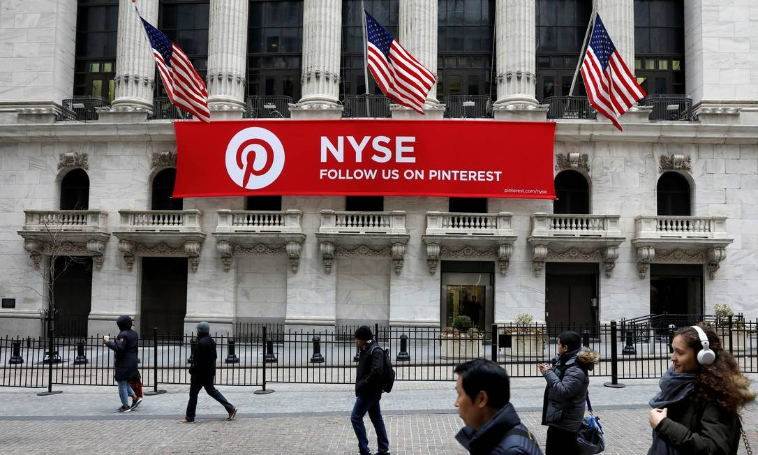 Pinterest: preparando-se para o IPO. Foto: Brendan McDermid / REUTERS