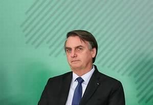 O presidente Jair Bolsonaro 08/04/2019) Foto: Marcos Corrêa/Divulgação
