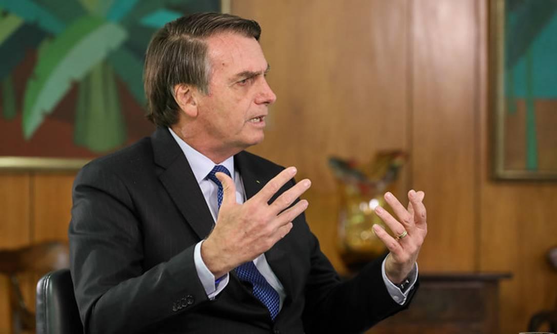'Pressão está forte para me candidatar', diz Bolsonaro sobre eleição 2022, em entrevista a rádio Foto: Marcos Corrêa/Divulgação Presidência