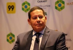 O viice-presidente Hamilton Mourão 06/04/2019 Foto: ROMERIO CUNHA / Divulgação