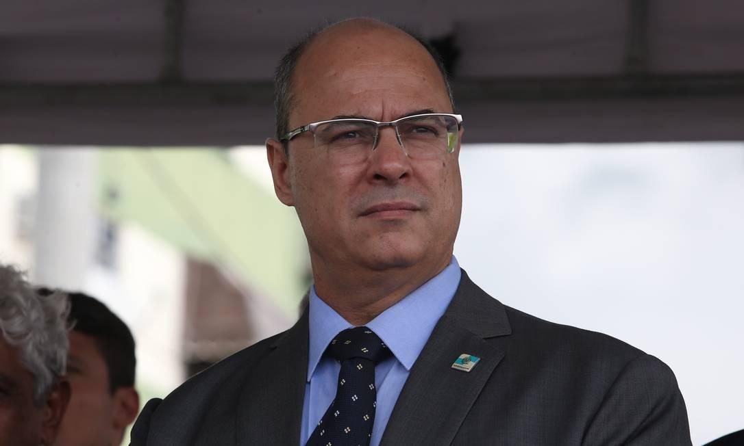 O governador do Rio, Wilson Witzel 29/03/2019 Foto: Pedro Teixeira / Agência O Globo