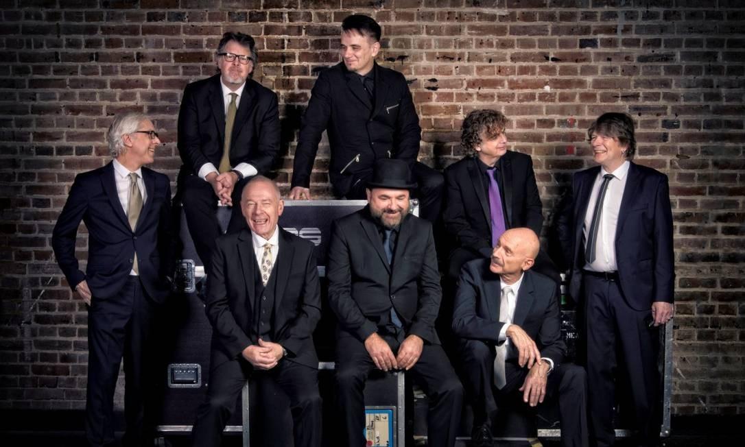 O grupo inglês King Crimson Foto: Divulgação