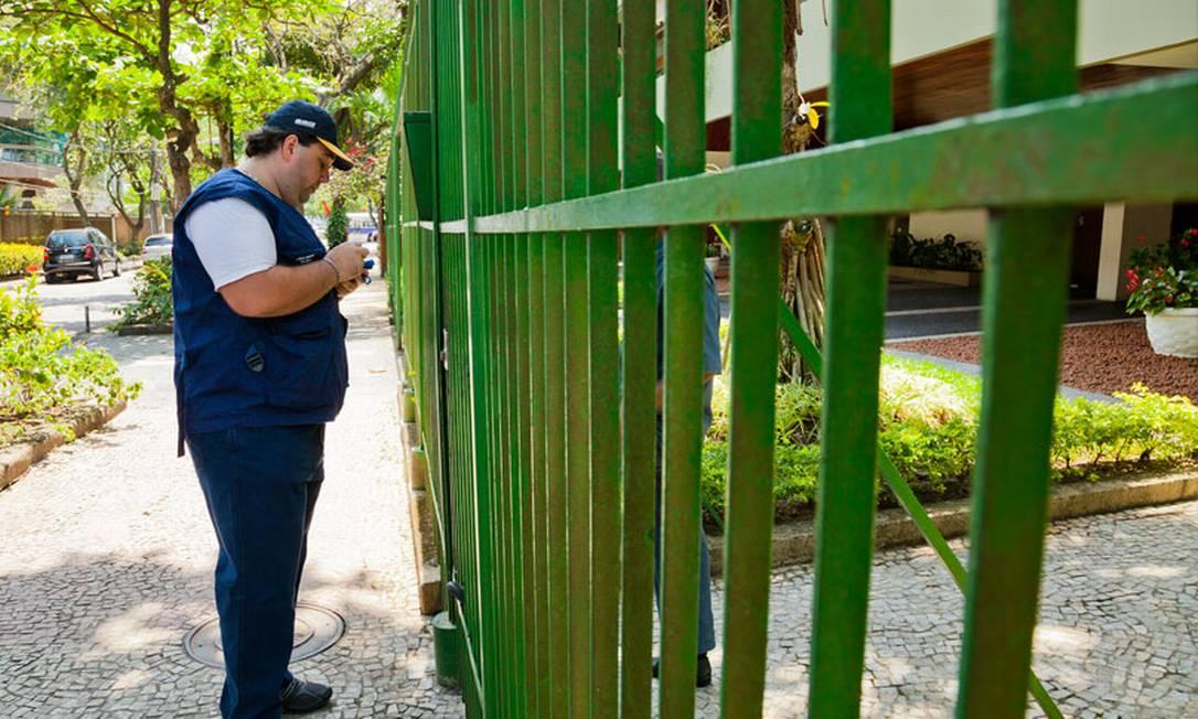 Testes de coleta para o Censo 2020 Foto: Licia Rubinstein / Divulgação/IBGE