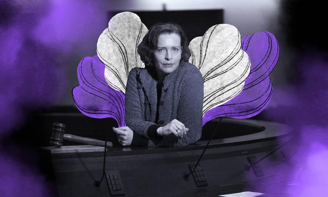 Eynat Kalish-Rotem, prefeita de Haifa, reclama da redução de mulheres na política israelense Foto: Arte de Lari Arantes sobre Reprodução WikiCommons