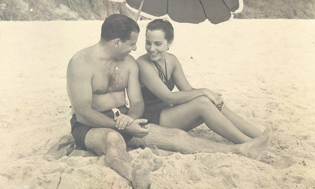 Maria Thereza e João Goulart: namoro em 1953 Foto: Arquivo pessoal