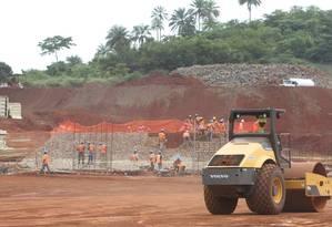Mina no Guiné, uma das maiores reservas de ferro do mundo Foto: Divulgação / Vale