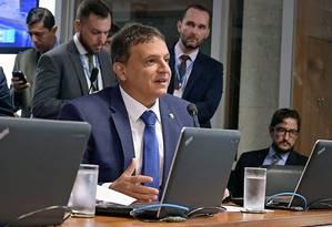 Senador Marcio Bittar (MDB-AC) é um dos três relatores do pacote anticrime do ministro Sergio Moro Foto: Agência Senado