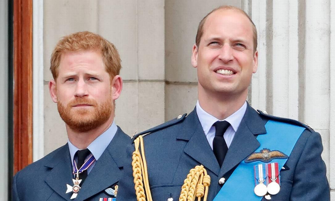 William e Harry: rumos diferentes Foto: Max Mumby/Indigo / Getty Images